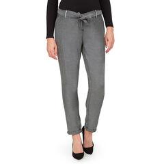 Pantalón chino de embarazo con bolsillos y cinturón extraíble