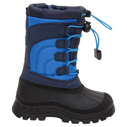 Botas de nieve con protección de caucho y cordones de ajuste