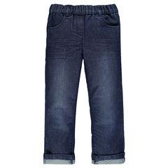 Jeans cintura elástica