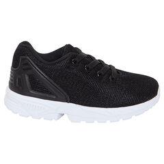 Zapatillas deportivas bajas de malla con cordones elásticos del 28 al 35