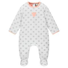 Pijama de terciopelo de lunares Disney Minnie