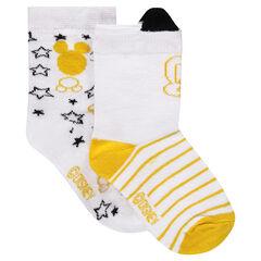 Pack de 2 pares de calcetines de ©Disney con dibujo de Mickey