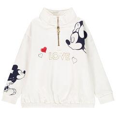 Sweat en molleton print Mickey Minnie Disney pour enfant fille , Orchestra
