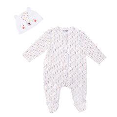 Conjunto de pijama y gorro