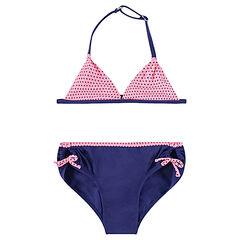 Bikini con lunares y lazos