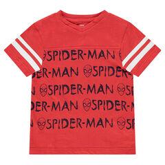 Camiseta de manga corta de punto con estampados ©Marvel Spiderman