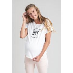 camiseta de de embarazo con mensaje
