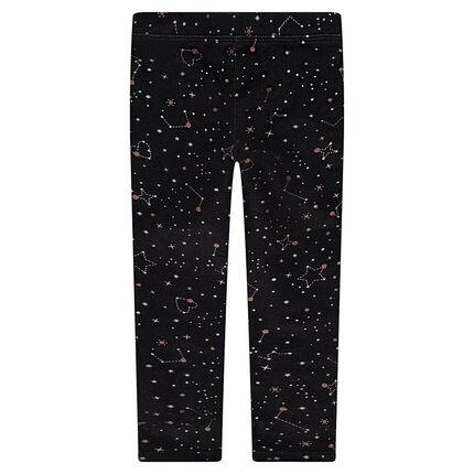 Leggings de punto con estrellas estampadas all-over.