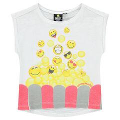 Camiseta de manga corta con estampado de fantasía ©Smiley