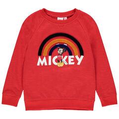 Sudadera de felpa print Mickey Disney