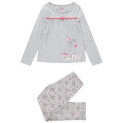 Pijama de punto con conejo de Bambi estampado