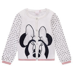 Chaqueta de punto Diney con Minnie estampada