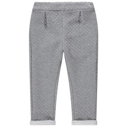Pantalón de felpa de fantasía con cintura elástica
