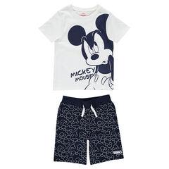 Pijama corto de punto con Mickey estampado ©Disney