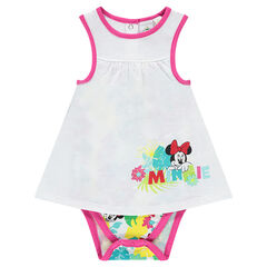 Body tipo vestido con estampado de Disney Minnie