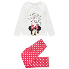 Pijama de terciopelo con estampado de Minnie Disney