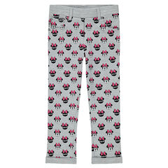Jeggings estampados de Disney con Minnie