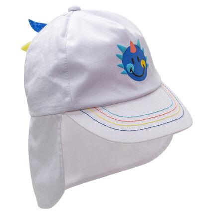 Gorra con protector de nuca y estampado ©Smiley
