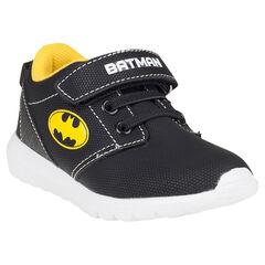 Zapatillas de deporte de caña baja con cordones con sujeción mediante elástico con velcro Batman