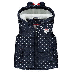 Chaleco anorak con lunares all over ©Disney Minnie