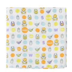 Pack de 3 mantillas 70 x 70 cm ©Smiley Baby