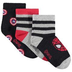 juego de 3 pares de calcetines Marvel