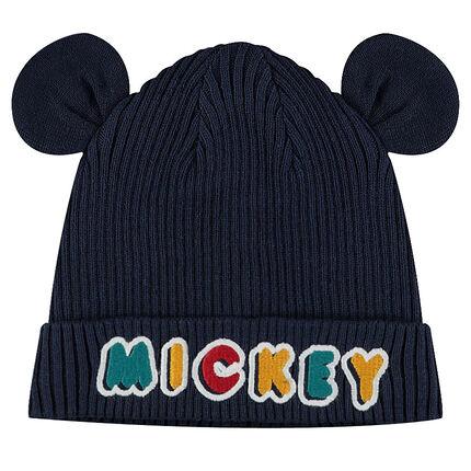 Gorro de punto  ©Disney Mickey con orejas cosidas