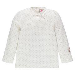 Camiseta interior manga larga con estampado all-over