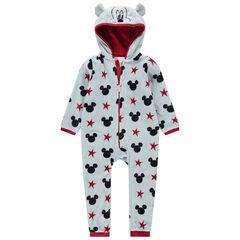 Pijama de borreguillo all over con dibujos de Mickey all over