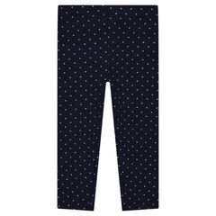 Leggings de punto con estampado all-over