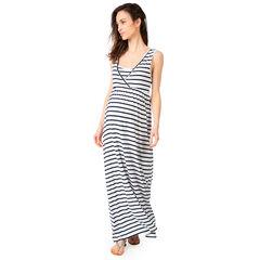 Vestido largo de premamá y lactancia