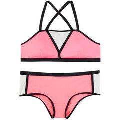 Bikini de premamá tricolor