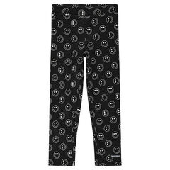 Leggings de punto con ©Smiley estampado all-over