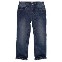 Jeans sobrecostura