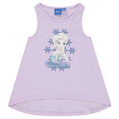 Camiseta sin mangas de espalda nadadora con estampado Disney Frozen