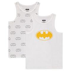 Juego de 2 camisetas interiores sin mangas ©Warner Batman