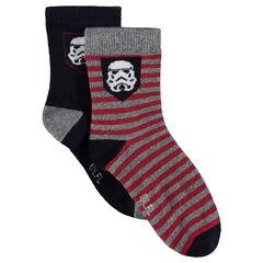 Juego de 2 pares de calcetines variados Stormtrooper Star Wars™