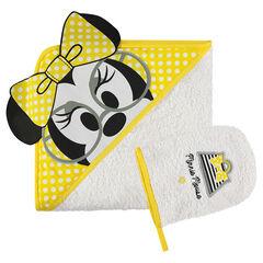 Conjunto de baño de rizo con bordado de Disney Minnie