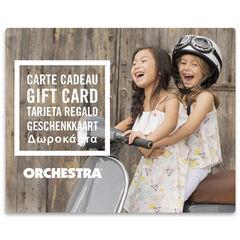 La tarjeta de regalo electrónica Orchestra duoFilles