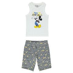 Pijama corto de punto Disney Mickey