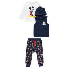 Jogging 3 pièces print Mickey Disney pour bébé garçon , Orchestra