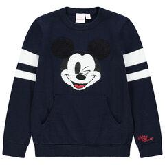 Jersey de punto Mickey Disney y bolsillo canguro , Orchestra