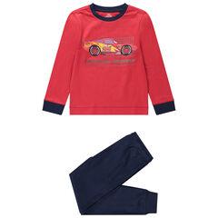 Pijama de 2 piezas de punto de manga larga Cars