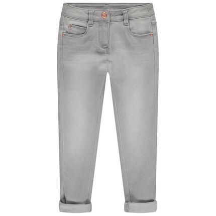 Jean effet used coupe skinny