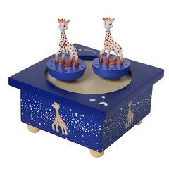 Boite à Musique Sophie la Girafe - Bleu