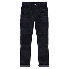 Júnior - Pantalón de pana con efecto arrugado y cortes en las piernas