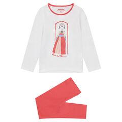 Pijama de jersey con personaje de fantasía estampado