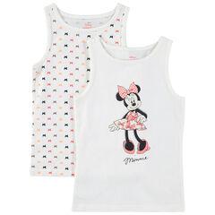 Juego de 2 camisetas con estampado de Minnie Disney