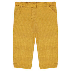 Pantalón de tela reforzada tipo chino