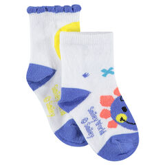 Juego de 2 pares de calcetines variados con estampado ©Smiley